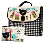 Pack School Bag - J'aime aller à l'école + Pencil Case Bravo - Quel Beau travail