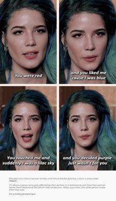 aka the one that people quote when they dont actually know who halsey is