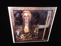 "Gustav Klimt ""Pallas Athene "" Austrian Art Nouveau 35mm Glass Art Slide  | eBay"
