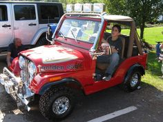 golf car jeep