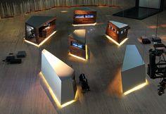 Audemars Piguet, The Royal Oak Anniversary Exhibition, Fragments, by Sebastian Leon Agneessens
