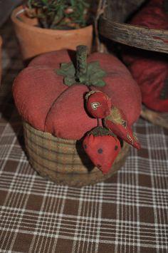 schneeman folk art pc tomato box