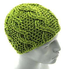 Ravelry: Cable Beanie - The Straight Eight pattern by Aaron Matthew Asmussen