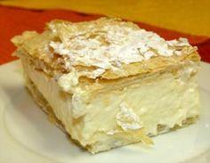 Vanilla Custard Puff Vanilla Custard, Cobbler, Tarts, Sauces, Dips, Dressing, Desserts, Food, Mince Pies