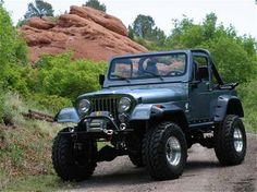jeep cj7 - Google Search 1969 T120R TRIUMPH bmw e30 Porsche 356 We don't have a baby in the house anymore, but this would be good for trips ...