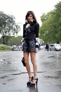 Woman in modern day Paris