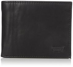 Levis Mens Batwing Extra Capacity WalletBlackOne Size *** Want additional info? Click on the image. Note: It's an affiliate link to Amazon #MenWallet