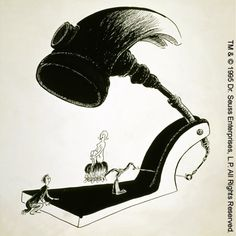 Another one of my favorite Dr. Seuss art.  It was propaganda during WWII.