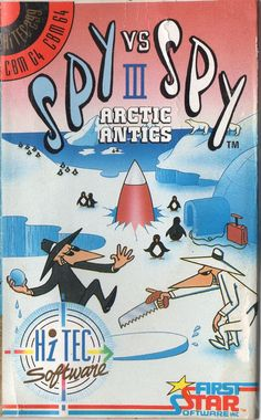 Spy vs Spy III: Arctic Antics (C64)