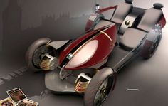 """Winner of the Royal Automobile Club's Best of British Design Award, the """"Wolseley Voyager"""" concept car is a modern take on the 1899 Wolseley Voiturette."""