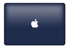 MacBook Pro or Air Blue Carbon Fiber Skin FULL by iCoverSkin, $49.99