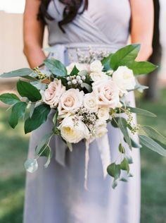 Glamorous, romantic bouquet: http://www.stylemepretty.com/arizona-weddings/scottsdale/2015/06/01/coming-home-an-elegant-backyard-wedding/ | Photography: Ace & Whim - http://aceandwhim.com/