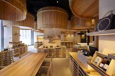 kengo kuma recreates traditional soy sauce warehouse in tokyo