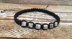 Howlite Bracelet / Raw Crystal Jewelry / Chakra Bracelet / Healing Crystal Jewelry / Healing Bracelet