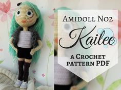 Amidoll No2  Kailee PDF Crochet Pattern in by TheMagicLooop