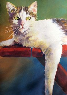 judi betts watercolor gallery | The Artery 207 G. St., Davis, CA