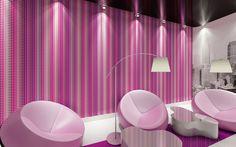 Interior view; Livingwalls Wallpaper 327273
