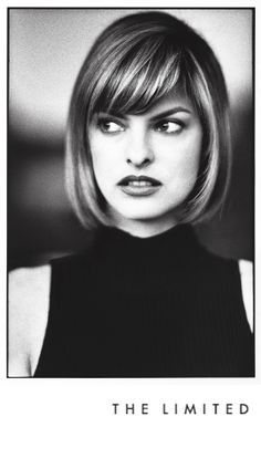 Supermodel Linda Evangelista's timeless beauty is a perfect match for The Limited's sense of style during a campaign in the '90s. #TheLimited #LTDsince1963 #classicbeauty #LindaEvangelista