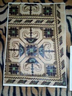 Small Farm, Cross Stitching, Bohemian Rug, Mandala, Crochet Patterns, Rugs, Bulgaria, Vintage, Home Decor