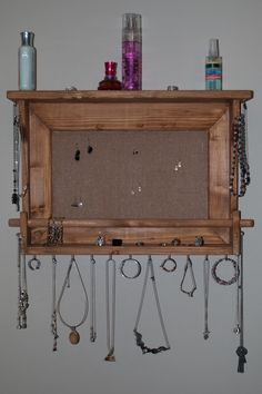 Hey, I found this really awesome Etsy listing at https://www.etsy.com/listing/208691639/jewelry-holder-wall-mounted-jewelry