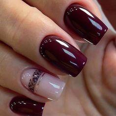 Quick Dry Nail Polish, Dry Nails Quick, Solid Color Nails, Nail Colors, Magic Nails, French Manicure Nails, Transparent Nails, Red Nail Designs, Instagram Nails
