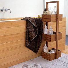 Многоуровневая мебель для ванной