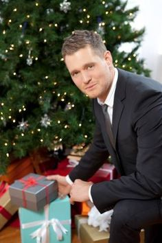 Michael Buble...I love his voice... Smooth as silk.