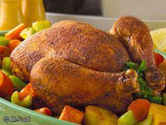 Friday Night Roasted Chicken | mrfood.com