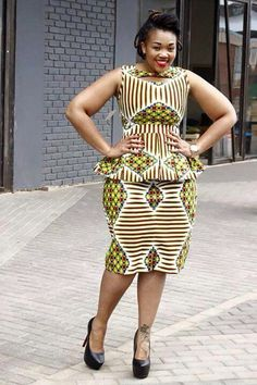 Look Stunning, Slinky & Hot With The Latest Kente Styles African Print Dresses, African Fashion Dresses, African Dress, African Prints, Ankara Fashion, African Inspired Fashion, African Print Fashion, Africa Fashion, African Attire
