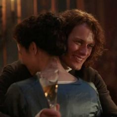 Jamie Fraser (Sam Heughan) and Claire Fraser (Caitriona Balfe) in Season Two of Outlander on Starz, Episode 3: Useful Occupations And Deceptions via http://kissthemgoodbye.net/PeriodDrama/thumbnails.php?album=537