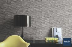 Add texture to your space with tile nn#texturetile #accentwall #walltile #interiordesign