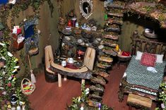 dollhouse+and+fairy+furniture+beds | Recent Photos The Commons Getty Collection Galleries World Map App ...