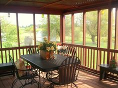 screened in porch decorating ideas | Screened in Porch - Porche Designs - Decorating Ideas - HGTV Rate My ...