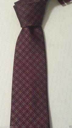 JOHN #Varvatos men neck silk narrow (slim) dress tie Made in Italy (no tags) NEW visit our ebay store at  http://stores.ebay.com/esquirestore