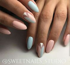45 Beautiful & Trendy Nail Art Designs That You Will Love - Trendy Nail Art, Cool Nail Art, Spring Nails, Summer Nails, Winter Nails, Love Nails, Fun Nails, Color Nails, Nail Colors