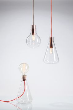 Laboratory lights_DECHEM_Erlenmayer lights and lamp