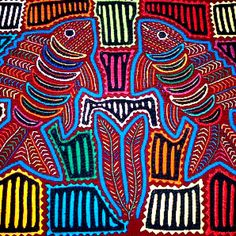 "¨MOLAS"" Made by Kunas Panama city"