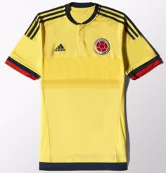 Colombia Copa America Jersey 2015