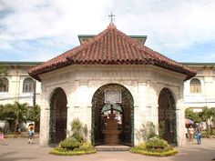 The Magellan's Cross' Kiosk at Cebu City-  I think this is the most symbolic and iconic representation of the City of Cebu (its even at the official seal). That it is stamped in our minds since we first stepped at the halls of education in elementary...and I think almost every Filipino know where this is: