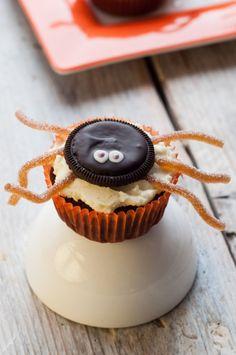 Strrraszne pająki czyli babeczki na halloween