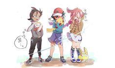 Ash Pokemon, Pokemon People, Pokemon Comics, Cute Pokemon, Pikachu, Cartoon As Anime, Manga Anime, Anime Art, Male Furry