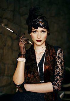 Gatsby fashion 1920's