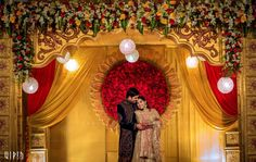 As much as how South-Indian weddings matter, so are receptions. With our weddings being all traditional and 4 Wedding Hall Decorations, Wedding Reception Backdrop, Marriage Decoration, Engagement Decorations, Wedding Mandap, Wedding Dresses, Wedding Table, Wedding Flowers, Table Decorations