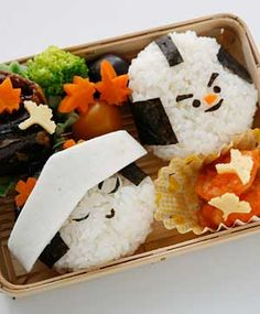 Samurai wedding bento