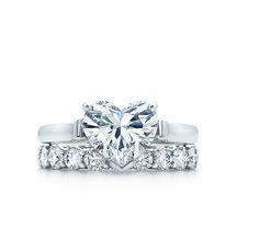 Tiffany & Co. Engagement Ring Heart Shape...oooo pretty