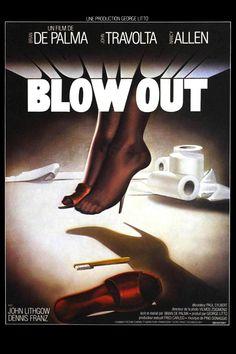 Réalisé par Brian De Palma (1981) Nancy Allen, John Travolta, Film Shot, Movie Sound Effects, Coppola, Movie Poster Art, Film Posters, Cinema Posters, Movie Posters