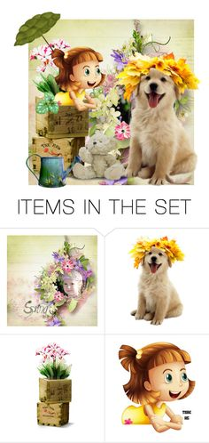 """You be the Flower Stand & I'll Be the Flower Next!"" by catfabricsandbuttons ❤ liked on Polyvore featuring art and you"