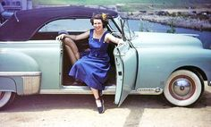 Four Fun Friday Kodachrome Car Photographs No. Detroit Steel, Car Supplies, High Performance Cars, Us Cars, Female Photographers, Good Friday, Car Photos, Classy Women, Big Hair