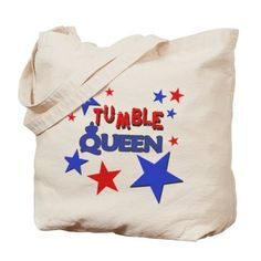 Tumble Queen Tote Bag on CafePress.com