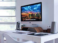 Desk Setup // 5K iMac